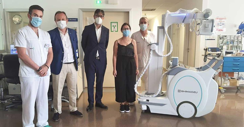 El Gobierno de Castilla-La Mancha invierte más de 72.000 euros en dotar al Hospital de Tomelloso de un equipo de radiología portátil
