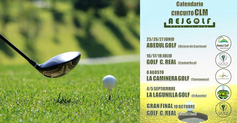 Preparado el Circuito de Golf gracias a la Asociacion de Jugadores Españoles de  Golf