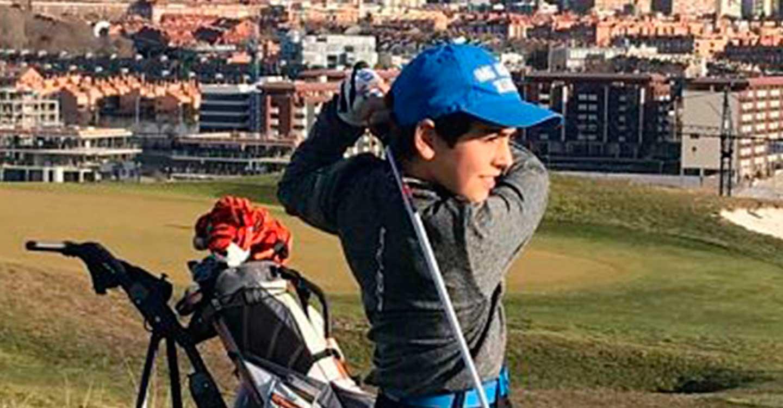 Gonzalo Rodríguez seleccionado por la Federación Española de Golf para el Amundi Evian Juniors Cup 2021