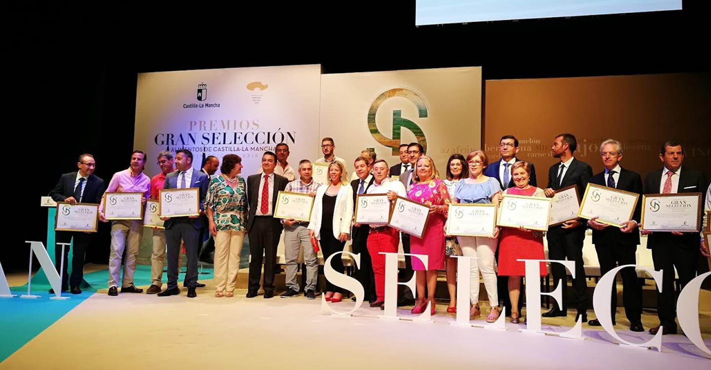 """Entregados los premios """"Gran Selección 2018"""" a los mejores productos agroalimentarios de Castilla-La Mancha"""