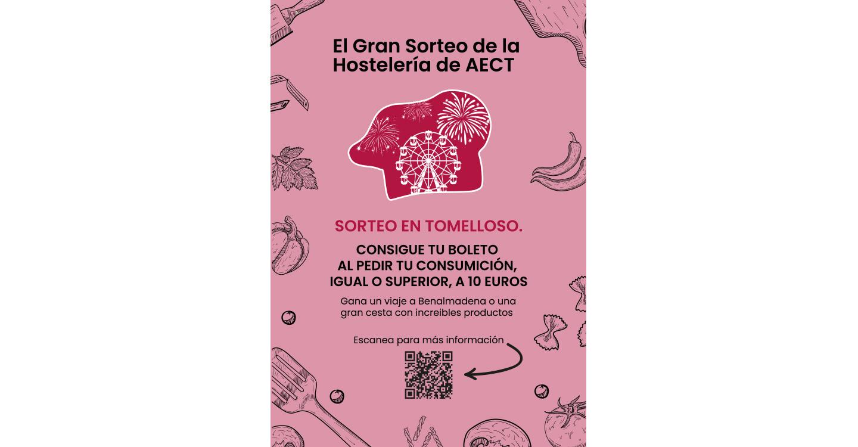 El Gran Sorteo de la Hostelería, una iniciativa de la Asociación de Empresarios para ayudar a comerciantes y hosteleros de Tomelloso