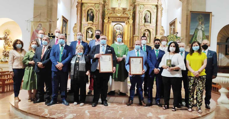Las Hermandades San Isidro y Virgen de las Viñas celebraron este fin de semana el XX aniversario de su hermanamiento