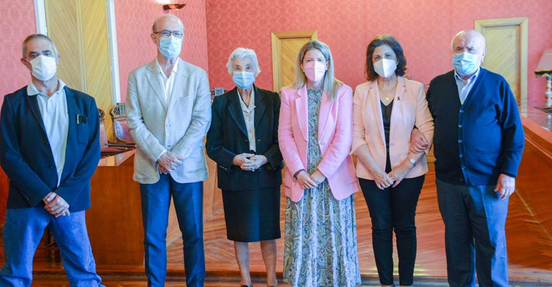Inmaculada Jiménez rinde homenaje a los cuatro alcaldes que ya son protagonistas en el callejero de Tomelloso