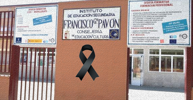 Homenaje póstumo al profesor Juan Manuel Pérez Colchero del IES Francisco García Pavón