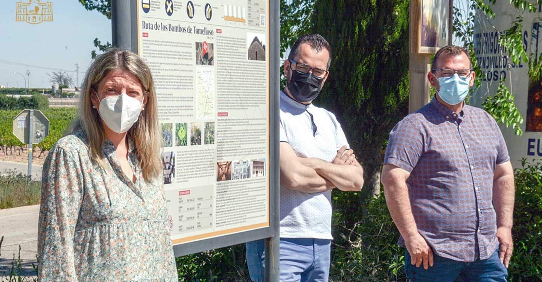 Homologada una ruta turística en torno a los bombos de Tomelloso