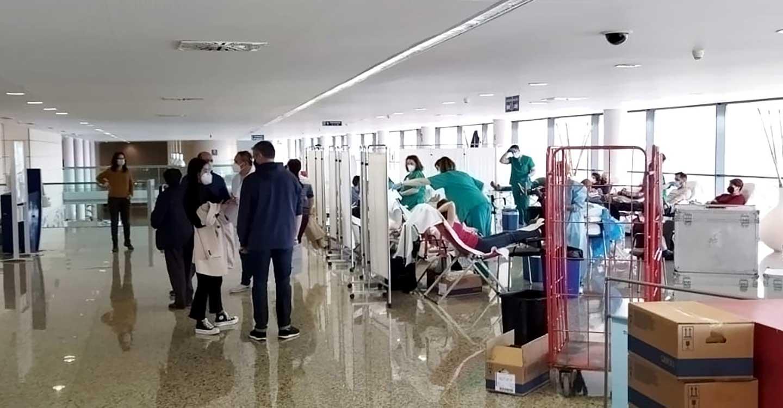 El Hospital General de Tomelloso bate un récord y obtiene 748 donaciones de sangre y 39 de plasma en cinco días