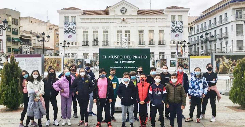 """Los alumnos del IES Pavón visitan """"El Museo del Prado"""" en Tomelloso"""