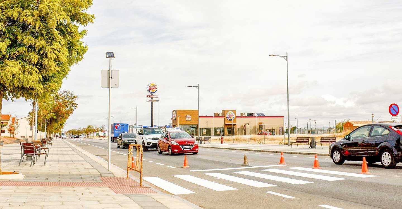 Finaliza en Tomelloso el proyecto de señalización horizontal para mantenimiento de calles principales