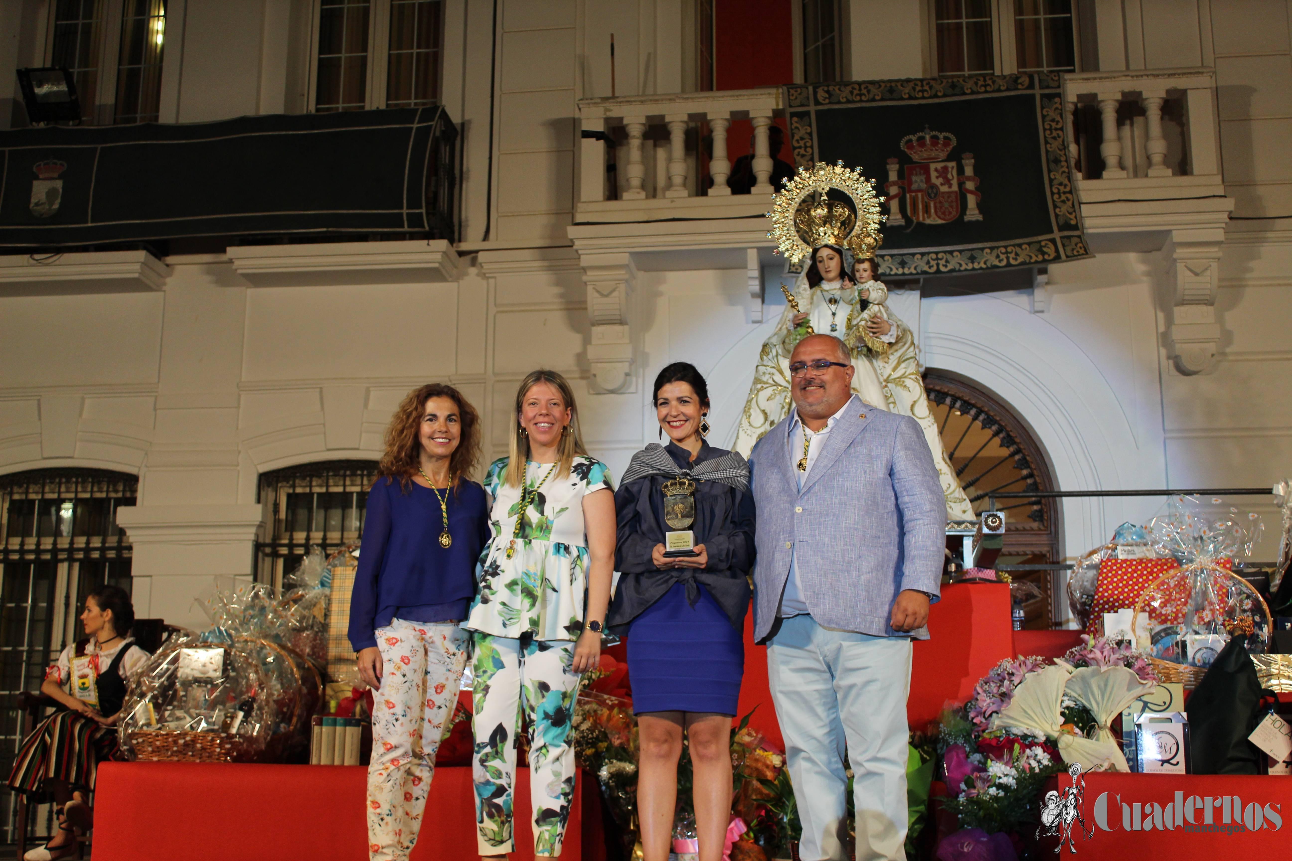 El pregón de Inmaculada de Lahoz Morales inicia la Feria y Fiestas de Tomelloso 2019