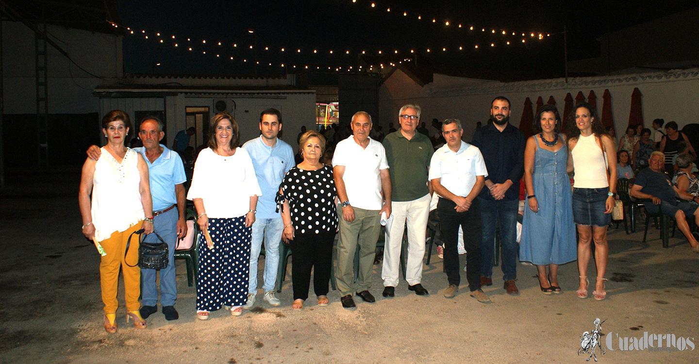 Inauguradas las fiestas del barrio de José María del Moral con el pregón del profesor Martín Ruiz