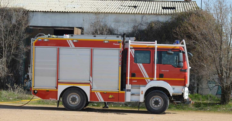 Un pequeño incendio en una nave ha sido sofocado hoy en la localidad de Tomelloso