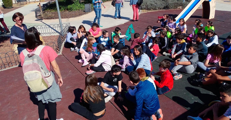 Iniciada la gymcana cultural en conmemoración del Centenario de Pavón dirigida a escolares