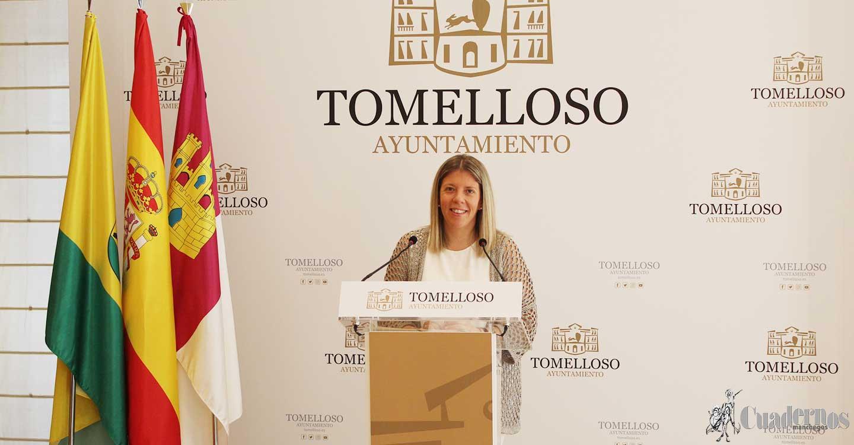 Inmaculada Jiménez anuncia 200.000 euros en ayudas directas para estudiantes de Tomelloso