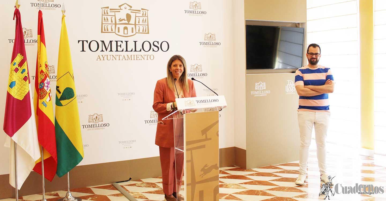Inmaculada Jiménez anuncia que María Morales, la concursante tomellosera de Master Chef, será la pregonera de la Feria y Fiestas 2021