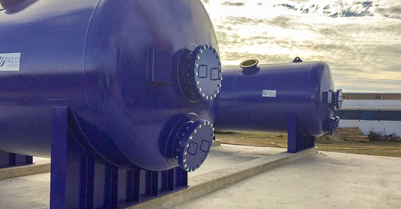 Instalados los cuatro primeros filtros de la nueva ETAP de Tomelloso