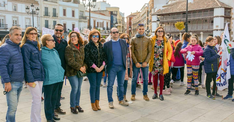 Isi Serna participa en el cierre de campaña de Manos Unidas en Tomelloso