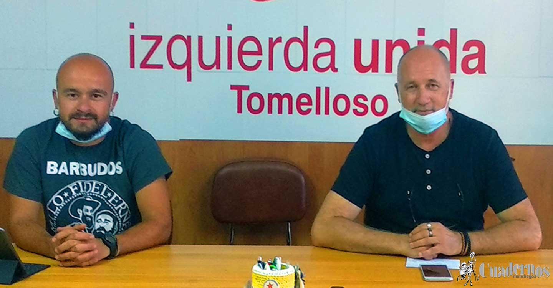 Izquierda Unida de Tomelloso critica el despilfarro de dinero que supone externalizar el servicio de limpieza de la localidad