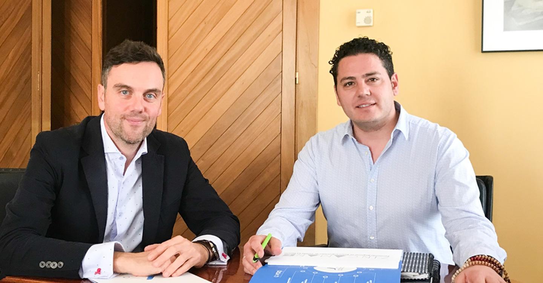Iván Rodrigo analiza con ZINCAMAN la situación del suelo industrial de Tomelloso