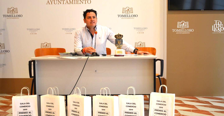 Iván Rodrigo anuncia los establecimientos ganadores en la Gala del Comercio del fin de semana