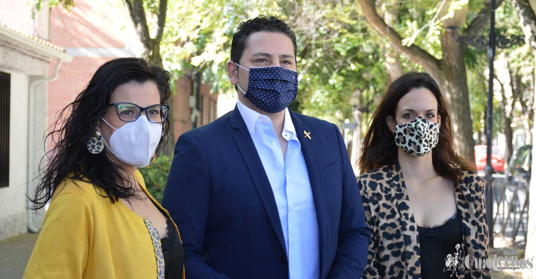 """Iván Rodrigo : """"Tomelloso no se entiende sin el cuerpo de la Guardia Civil, nos sentimos muy orgullosos y seguros gracias a su labor"""""""