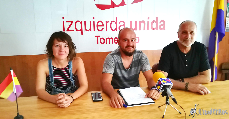 Izquierda Unida de Tomelloso denuncia la falta de seriedad del PSOE con las obras del centro.