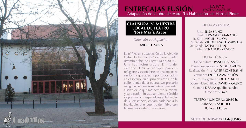 """La  XXVIII Muestra Local de Teatro """"José María Arcos"""" llega a su fin"""
