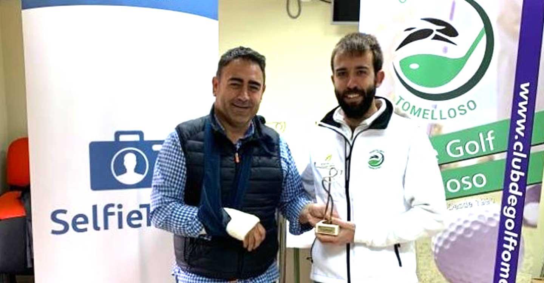 José Muñoz Jareño jugador del CG Tomelloso se proclama vencedor de la primera edición del torneo de golf Selfie Tour