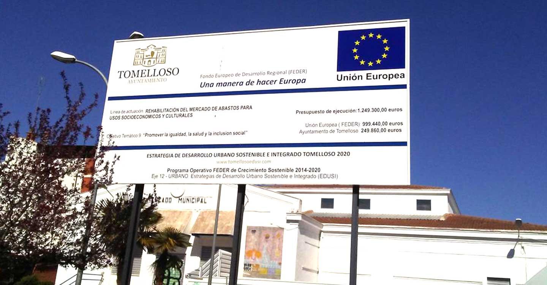 La Junta de Gobierno Local tratará el lunes el pliego del proyecto de rehabilitación del mercado de abastos de Tomelloso