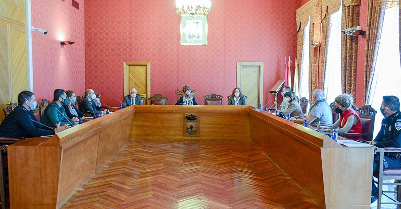 Se reúne en el Ayuntamiento de Tomelloso la Junta Local de Seguridad para acordar la no celebración de la Romería