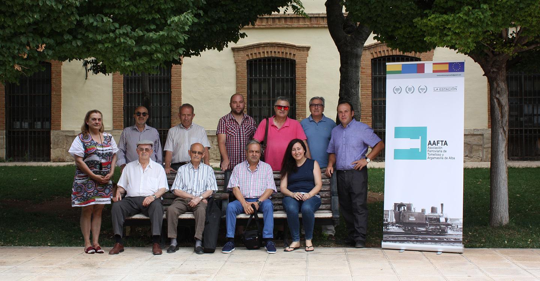 La  Asociación de Amigos del Ferrocarril de Tomelloso y Argamasilla de Alba AAFTA celebra sus 4 años de vida