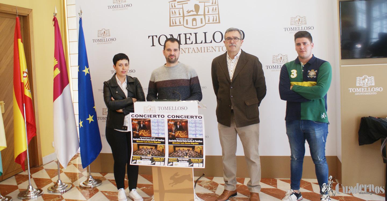 """La Asociación Musical """"Santa Cecilia"""" y """"Raúl Rubio"""" ofrecerán un gran concierto el 4 de mayo"""