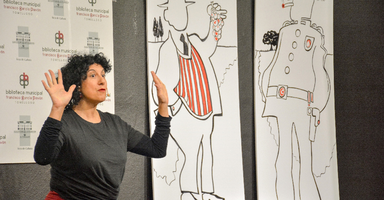 La Biblioteca celebra el Día del Libro con la cuentacuentos Eugenia Manzanera