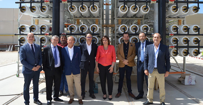 La consejera de Economía, Empresas y Empleo en funciones, Patricia Franco, visita la empresa Pramar