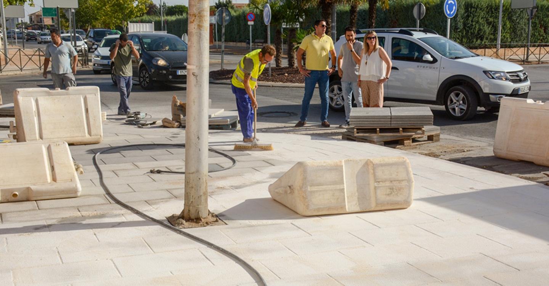 La IV Fase de la avenida Juan Carlos I de Tomelloso entra en su recta final