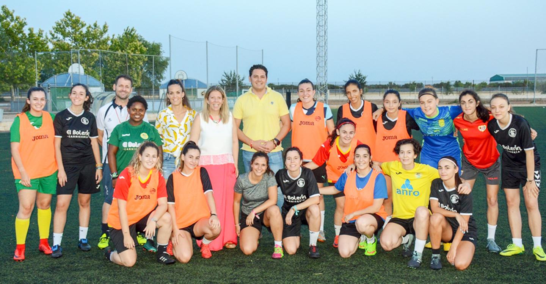 La Feria acogerá un partido de fútbol a beneficio de la Unión Tomelloso Femenino