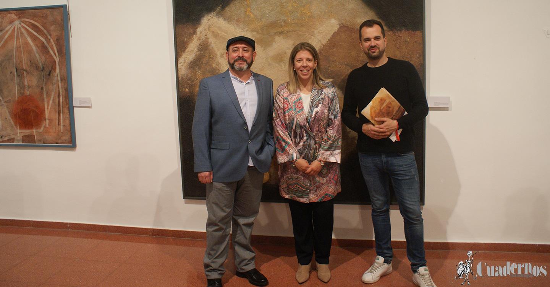 """""""La hora roja"""", una brillante exposición de pintura por el tomellosero Andrés Ruiz Paraíso."""