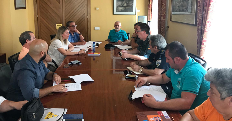 La Junta Local de Seguridad se reúne en el Ayuntamiento de Tomelloso para preparar el dispositivo de Feria y Fiestas