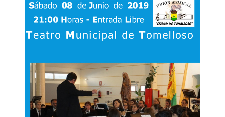 """La Unión Musical """"Ciudad de Tomelloso"""" celebrará el sábado su Concierto Benéfico de Primavera"""