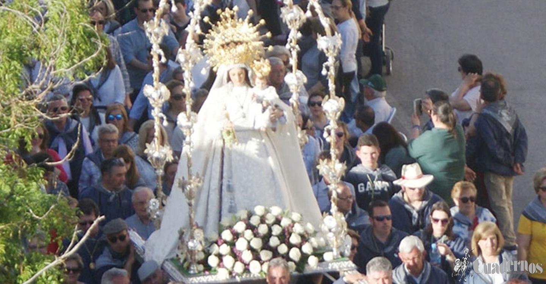 La Virgen de las Viñas siempre presente en la Feria y Fiestas de Tomelloso