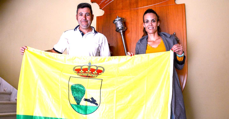 Laura Gallego muestra su apoyo al tirador de Tomelloso Jesús Serrano de cara a la próxima temporada