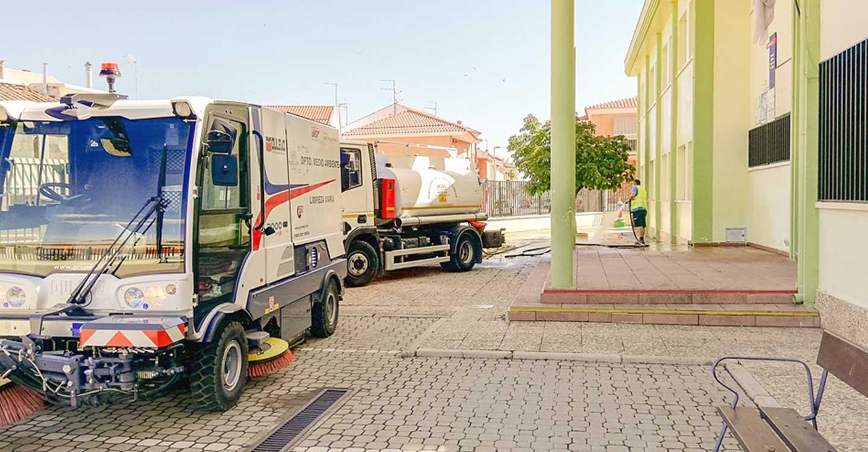En marcha un plan especial de limpieza en los colegios de Tomelloso para el inicio del curso