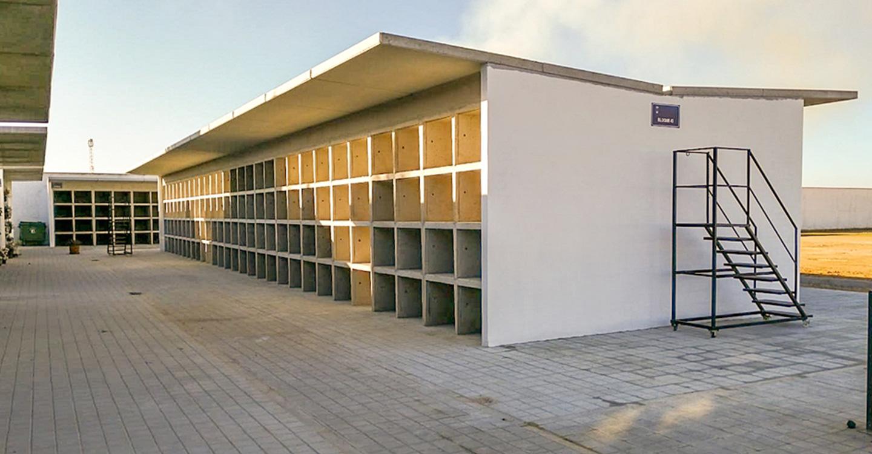 Lista una nueva fase de nichos en el Cementerio Municipal de Tomelloso