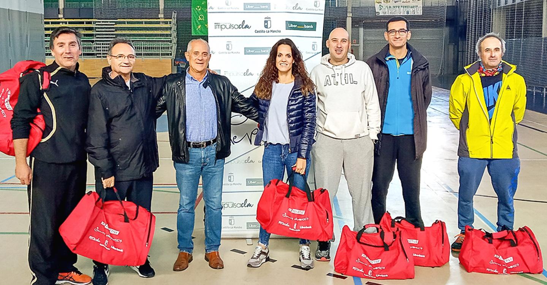 """Los centros de Tomelloso reciben el kit """"Beactive"""" por su participación en la Semana Europea del Deporte"""