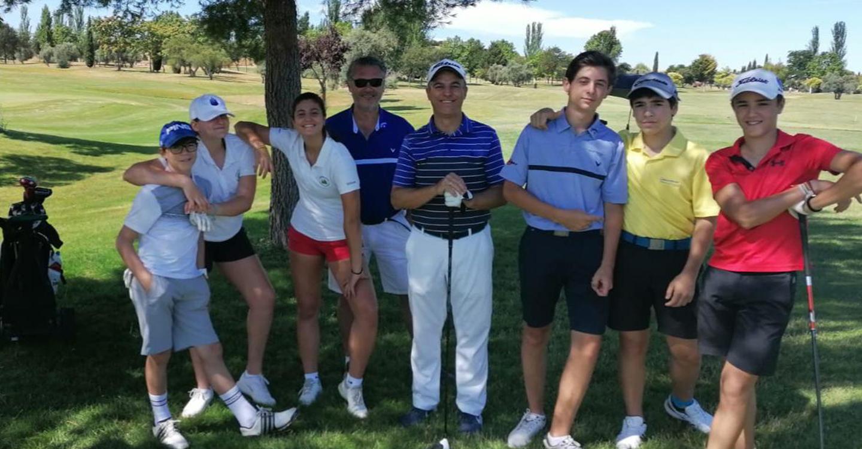 Lucía Salinas jugadora del Club de Golf Tomelloso se impone en el torneo provincial de Ciudad Real