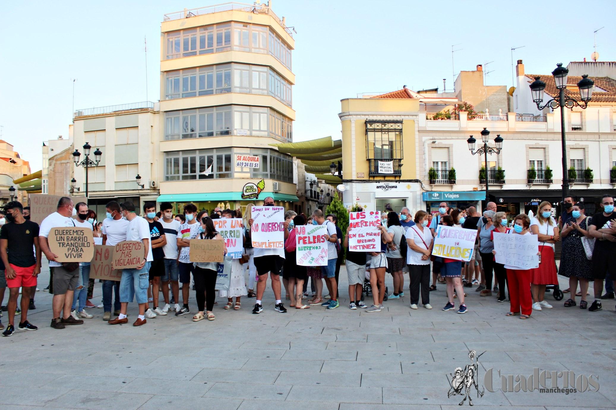 Manifestación Barrio San Juan Tomelloso