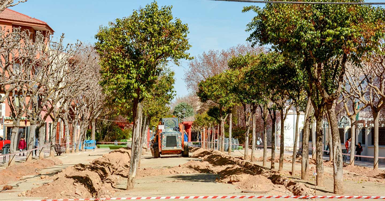 En marcha el proyecto de renovación de redes de riego de Tomelloso para este año