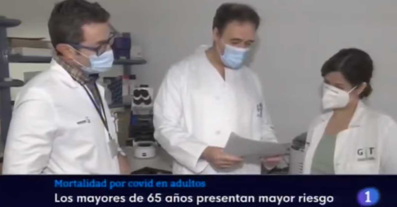 Tres médicos del Hospital de Tomelloso publican un estudio sobre el riesgo de mortalidad en pacientes Covid adultos.