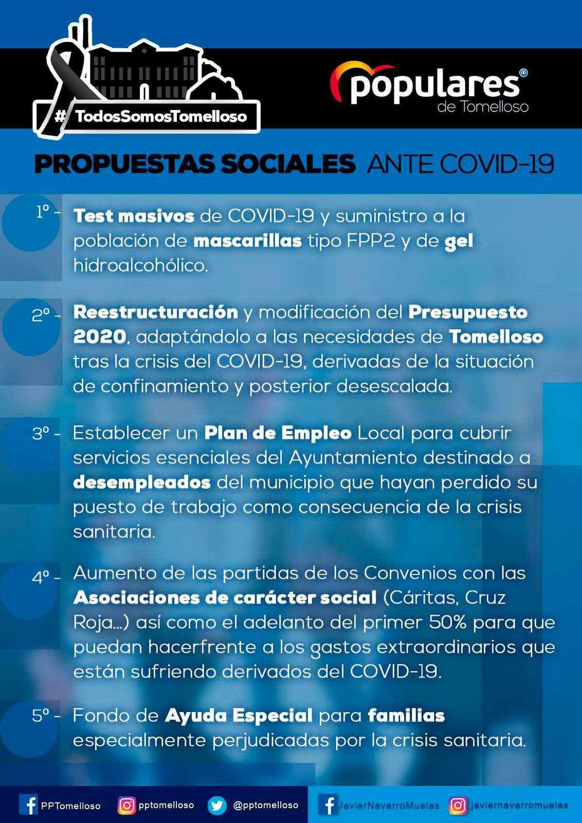 Medidas Sociales PP Tomelloso