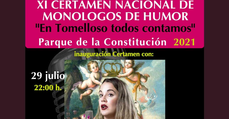 Todo listo para celebrar desde el jueves el XI Certamen de Monólogos de Humor en Tomelloso