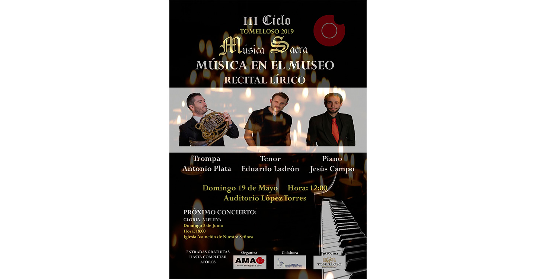 """""""Música en el Museo"""" la propuesta cultural de AMAO para este domingo."""
